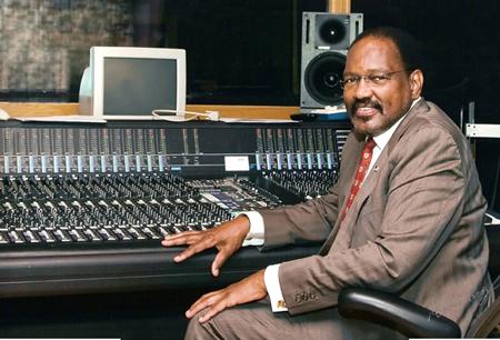 Al Bell In Studio